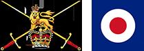 British Army Crest & RAF Roundel
