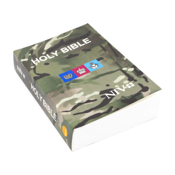 Holy Bible, NIV, camouflage design cover