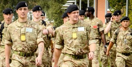 Troops at Lyneham