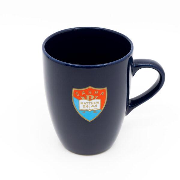 SASRA mug dark blue, SASRA logo on front