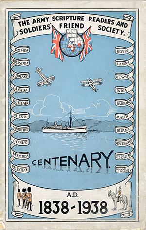 Centenary poster 1838-1938