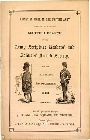 Army Scripture Readers' and Soldiers' Friends Society publication